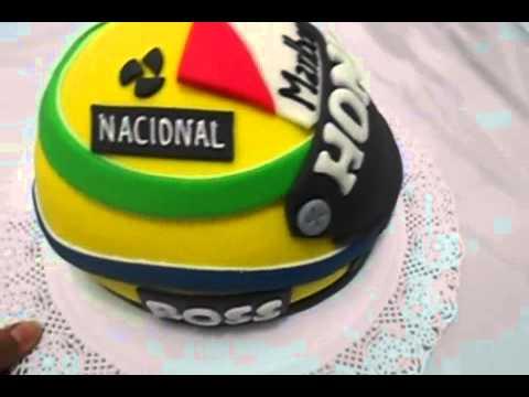 Bolo Ayrton Senna
