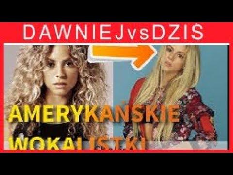Jak zmienily siÄ™ piosenkarki Shakira, Lady Gaga, Ariana Grande, Pink, Madonna, Miley Cyrus, JoJo