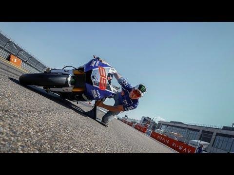 "MotoGPâ""¢ Lean Angle Experience"