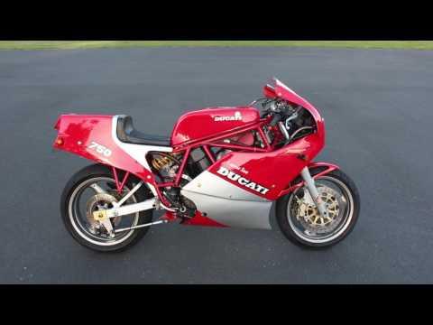 Ducati 750 F1 Laguna Seca