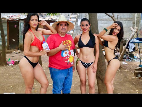 Agapito Diaz y las clientas en bikini – JR INN ft Anabella Galeano