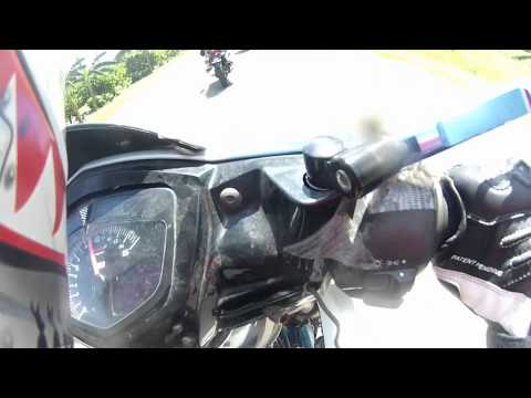 2 Honda CBR150fi Feat. Spamsafe's Yamaha Sniper R125 Speedtest
