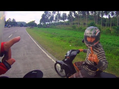 Drag race Honda Wave vs Suzuki Raider FU150 Belang