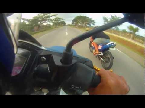 Yamaha Crypton X vs Suzuki Belang