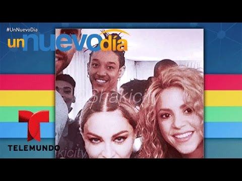 Shakira sorprendió a Madonna cuando visitó Barcelona | Un Nuevo Día | Telemundo