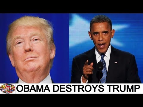 Barack Obama's INCREDIBLE Speech Making Trump Look Like A Fool – FULL (2017)