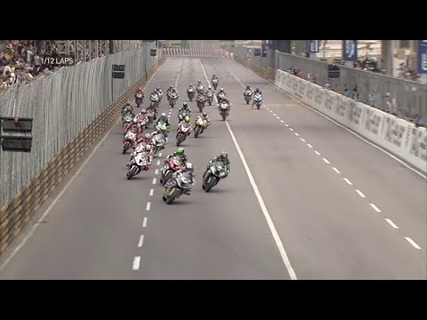 Macau Motorcycle Grand Prix 2015 Race Highlights