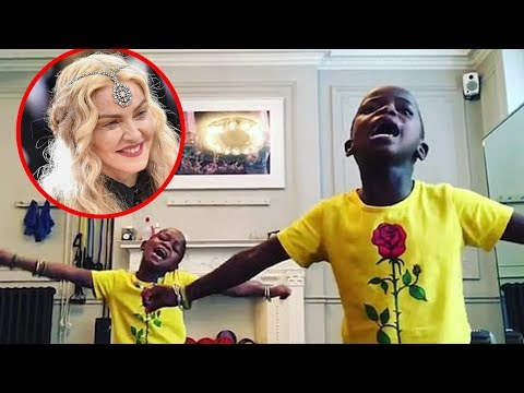 Madonna Posts Adorable Video of Her Twin Girls Dancing To Shakira's Waka Waka