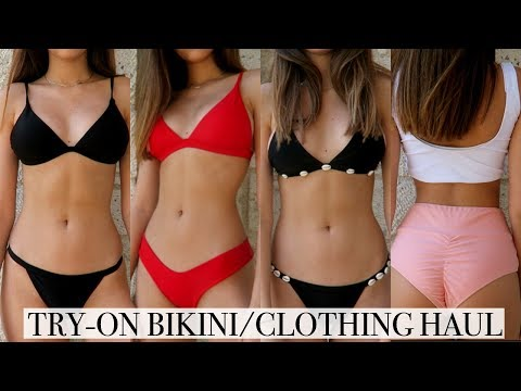 HUGE TRY-ON SUMMER BIKINI/CLOTHING HAUL